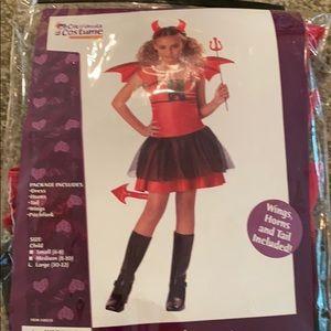 Girl's Devil Costume
